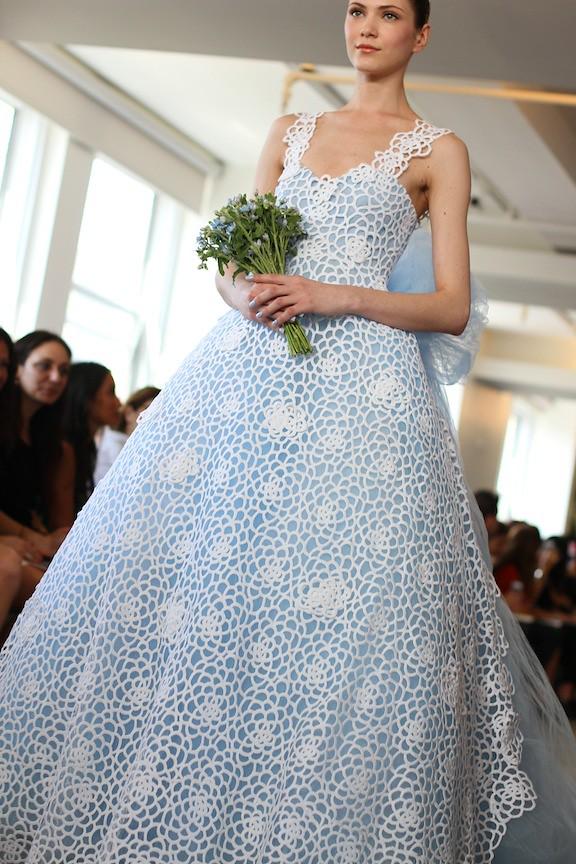 Oscar de la Renta Bridal 2013 106