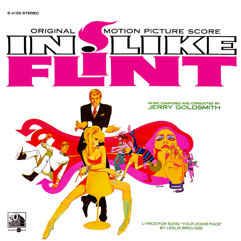 Jerry Goldsmith - In Like Flint