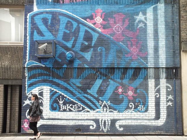 See No Evil Street Art, Bristol -Inkie