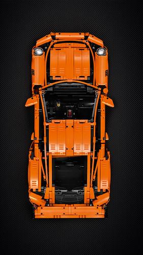 42056 Porsche 911 GT3 RS - Smartphone Wallpaper