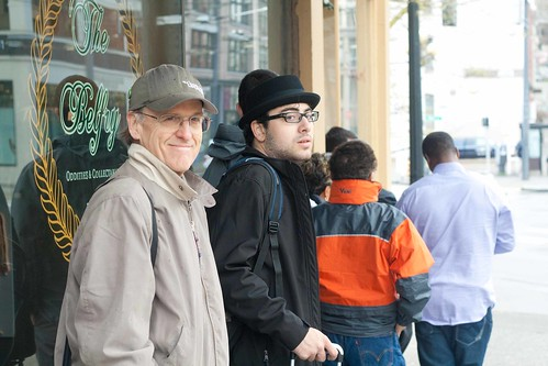 In line at Seattle's Salumi