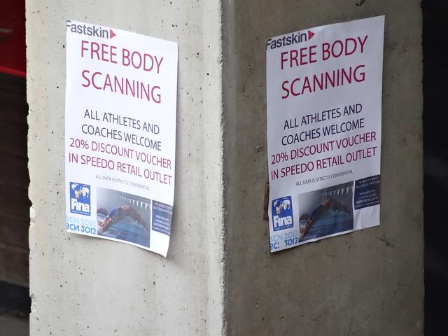 Free Body Scan at BCN2013