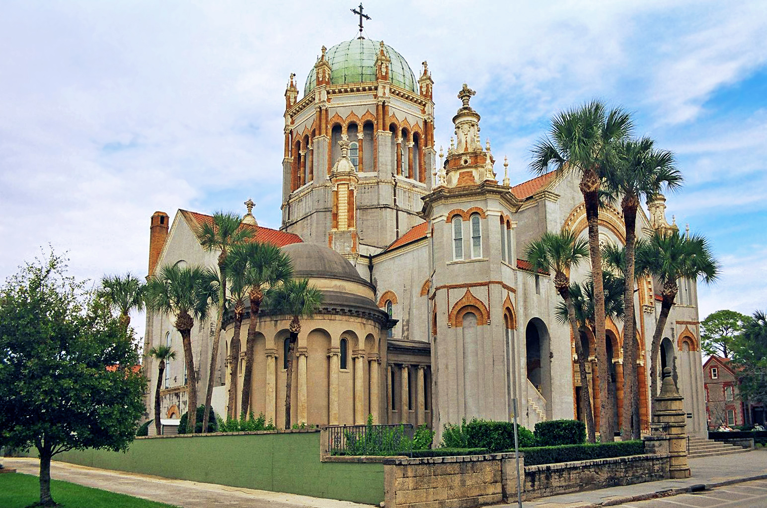 Elevation Of First Ave St Augustine FL USA