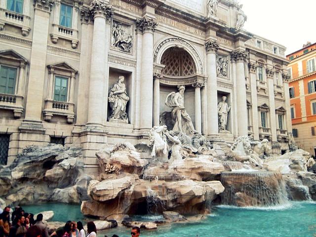 Fontana de Trevi, Roma (Italia)