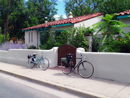 Bicycling in Santa Fe NM