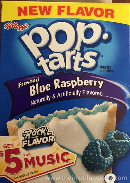 Kellogg's Frosted Blue Raspberry Pop-Tarts