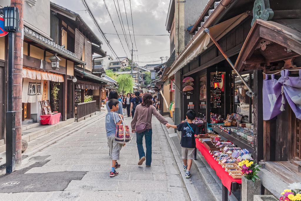 Shopping in Higashiyama