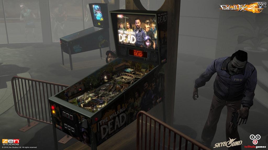 Pinball FX2 VR, PS VR