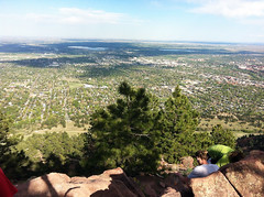 View from the top of Mt. Sanitas