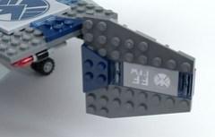 6869 Quinjet Maneuvering Foil Tilted