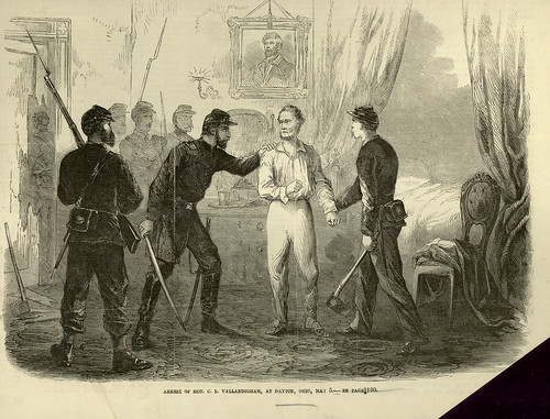 Arrest of Clement Vallandingham, 1863