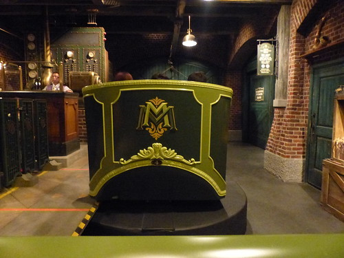 A carriage from Mystic Manor - not there is no track and each carriage is independent