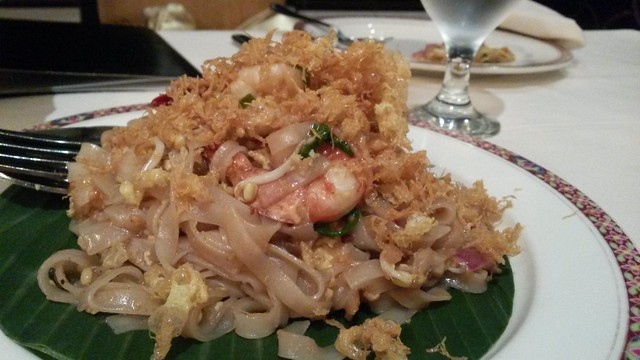 Pad thai at Benjarong