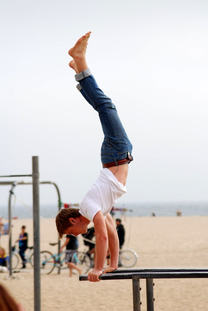 Handstand exercise