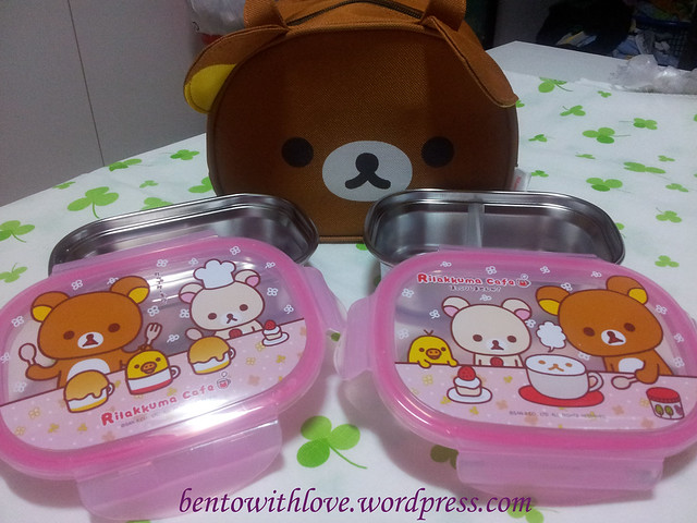 Rilakkuma Stainless Steel Lunchbox