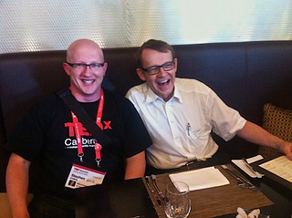 Me and Hans Rosling