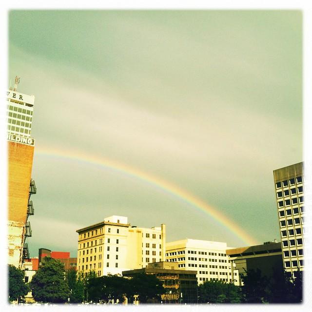Rainbow over W-S