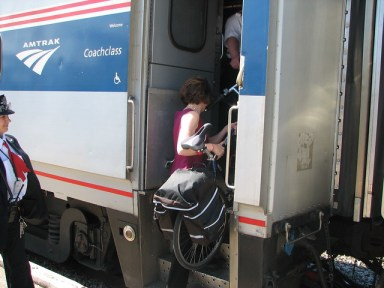 Proposed bike rack on Amtrak train to Michigan