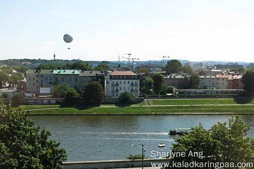 View from Novotel Centrum Krakow 2