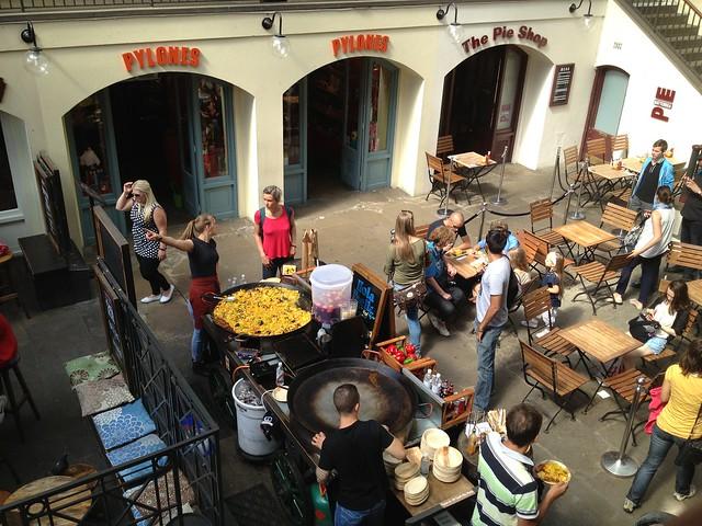 Paella vendor