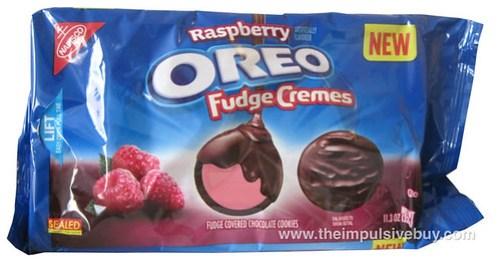 Nabisco Raspberry Oreo Fudge Cremes