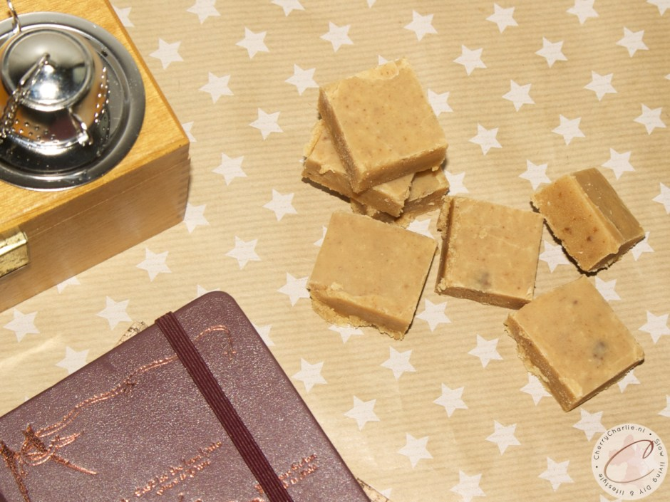 Ouderwetse fudge met speculaaskruiden • CherryCharlie.nl