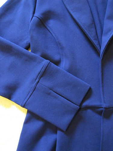 StyleARC Marni jacket in ponte - cuff detail