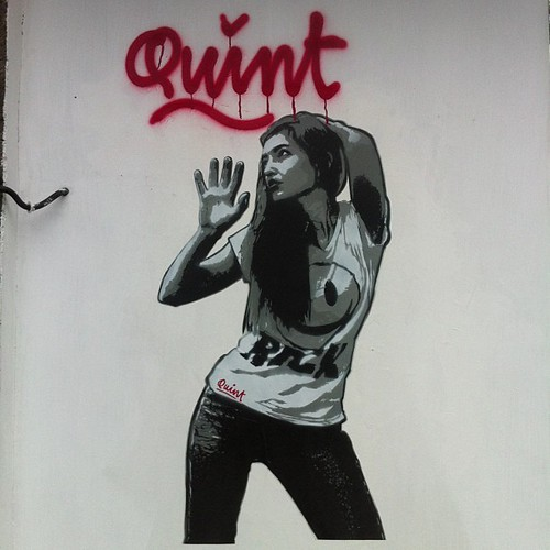 Graffiti girl III