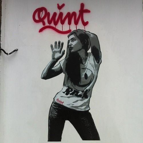 Graffiti girl III