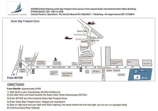 Harbor Point Map