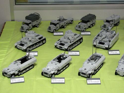 Stand de Panzerbricks en la Feria de Mungia