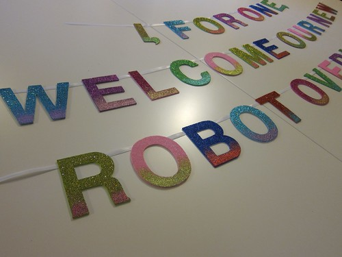 Robot Overlords Banners