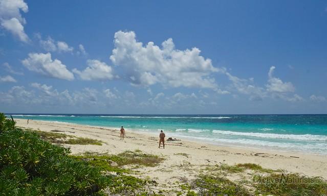 naturist 0000 Xcacel-Xcacelito beach, Quintana Roo, Mexico