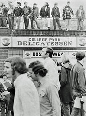 Students Occupy Route 1 Protesting War & Kent State: May 1970