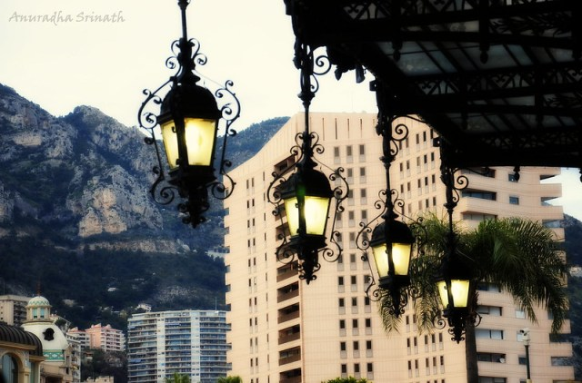 View of Monaco from the casino
