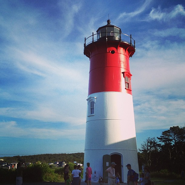 Favorite lighthouse. #lighthouse #capecod #getaway #latergram