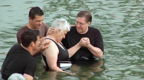JOEL ROSENBERG BAPTIZES