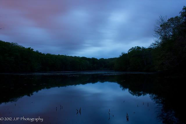 Great Brook Pond Sunset