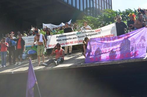 Ocupa BNDES Feministas e Indígenas