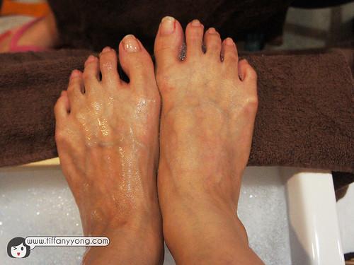 foot pedicure