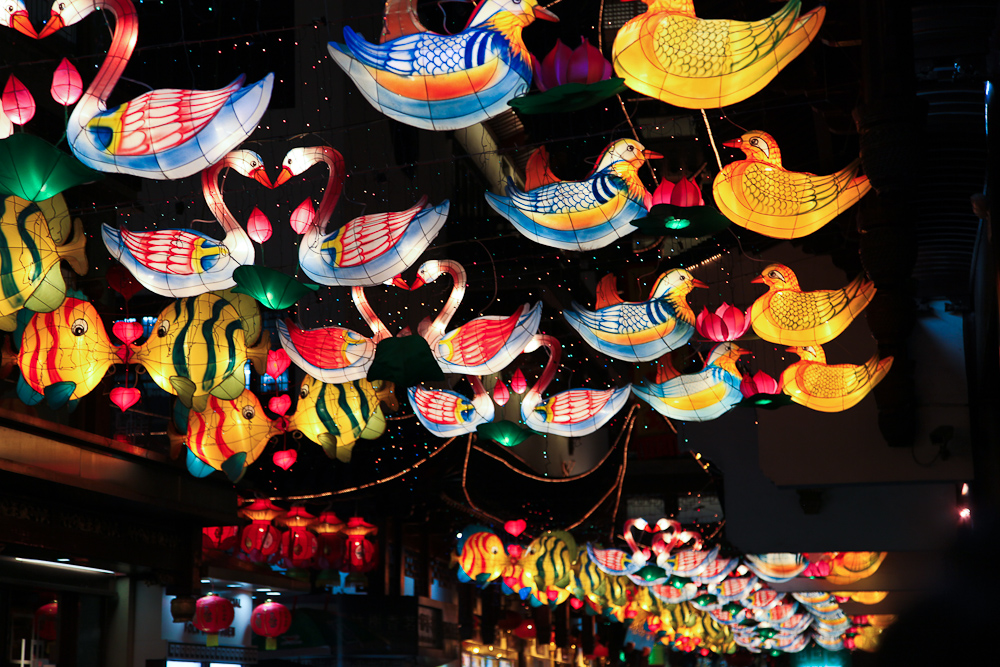 Lanterns in Shanghai