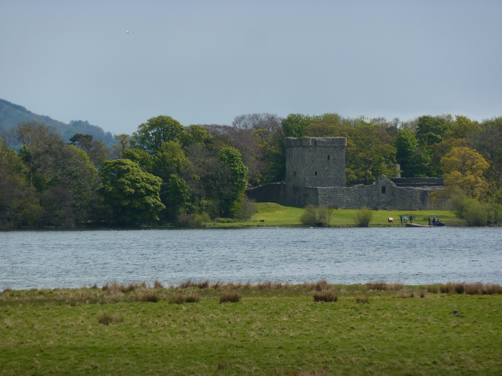 6. Lochleven Castle, donde María, Reina de los escoceses, estuvo prisionera. Autor, Beth M527