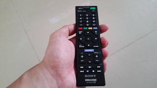 รีโมตคอนโทรลของ Sony Bravia KDL-32R420B