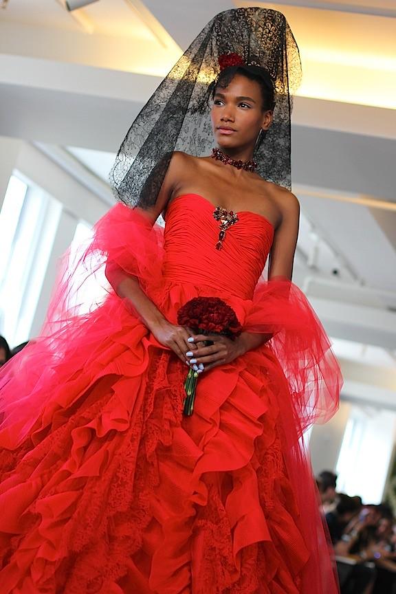 Oscar de la Renta Bridal 2013 115