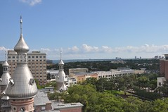 From top Minaret, University of Tampa