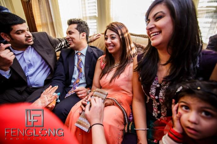 Ismaili Wedding Satada at Bride's Home