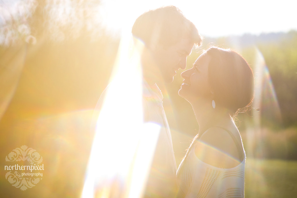 Sunflare - Engagement Session in Prince George BC