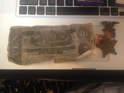 Confederate 10$