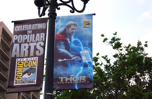 Comic con banners