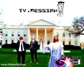 jesus and the gang at the white house press conference